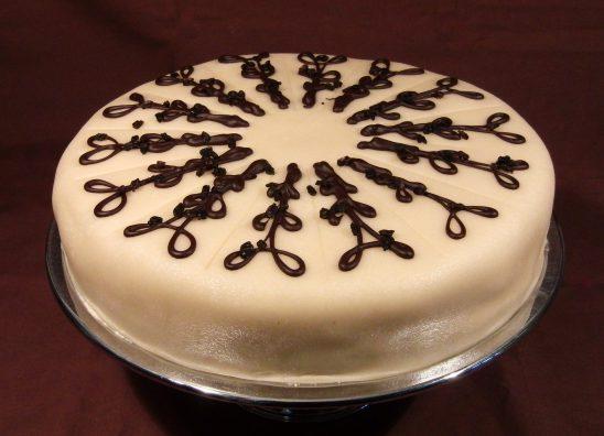 Lübecker Marzipan Torte
