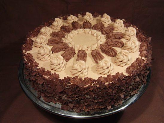 Nougatbuttercreme Torte