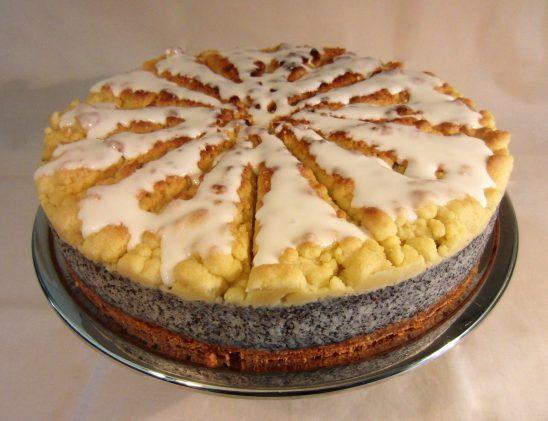 Mohnstreusel Torte