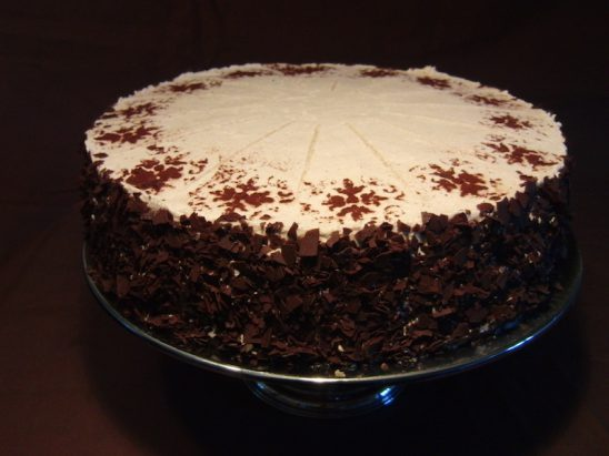 Pflaumen-Zimt-Sahne Torte