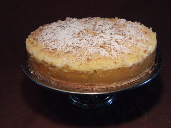 Apfel-Aprikosen-Streusel Torte