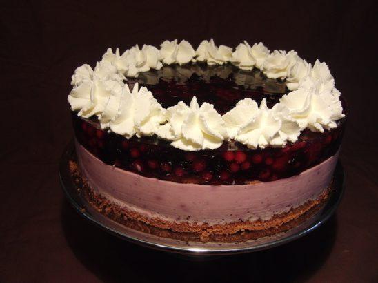 Rote Johannisbeer-Joghurt Torte
