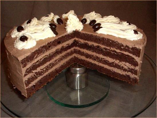 Mokkabuttercreme Torte